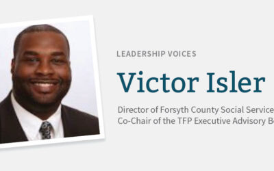 Interview with Victor Isler, Co-Chair of The Forsyth Promise's Executive Advisory Board